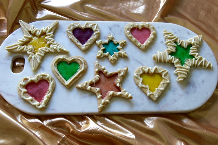 Stained Glass Christmas Cookies Bakerholics Anonymous